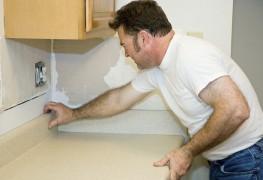 Choix d'une surface de travail ne demandant que peu d'entretien