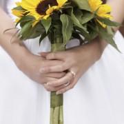 Confectionner un bouquet de tournesols