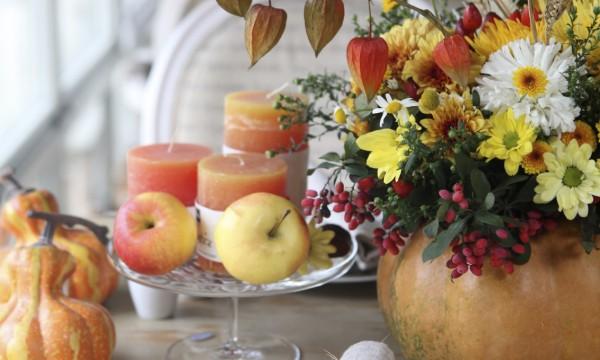Confection facile et rapide d'un centre de table