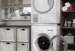 Gagnez de l'espace avec une laveuse et sécheuse superposées