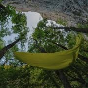 Rehaussez votre expérience de camping avec une tente hamac