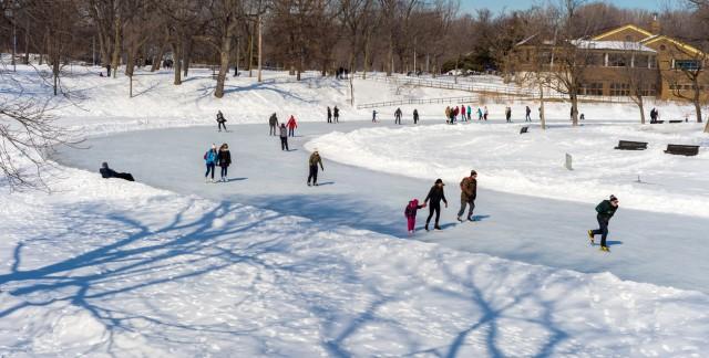 Les meilleures patinoires extérieures de Montréal