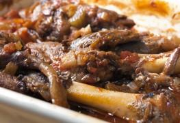Souper cesoir: gigotd'agneau rôti