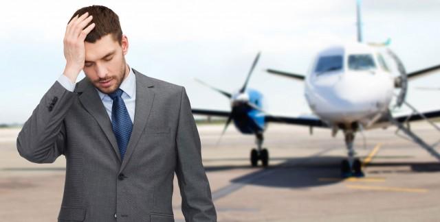 Que faire en présence d'une personne qui a peur en avion?