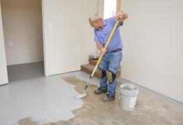 2 options pour la finition du plancher de votre garage