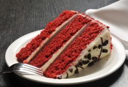Gâteau velouté rouge époustouflant