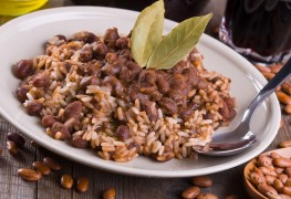 Recette de haricots rouges en sauce et riz