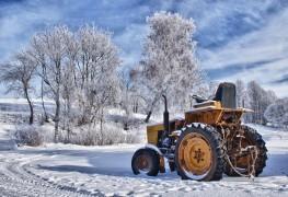 Changez les lames de votre tracteur et remisez-le pour l'hiver